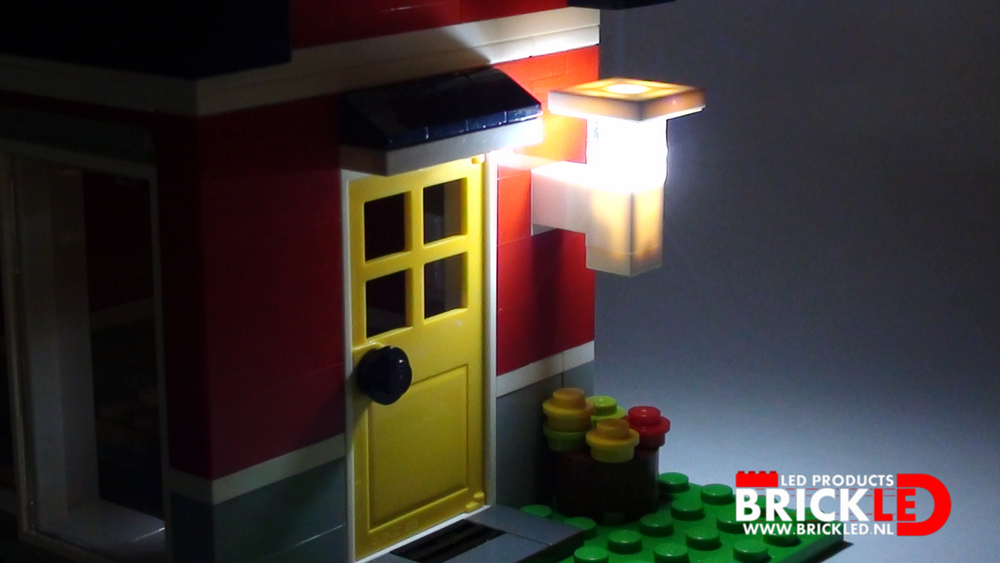 Gevel lamp modern groot lego verlichting